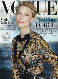 Cate Blanchett by Will Davidson for Vogue Australia December 2015 11