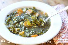 Soupe de chou frisé (kale) aux carottes et poireaux - Les Papilles Estomaquées...Les Papilles Estomaquées…