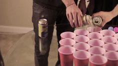 ✅ Learn how to play Rage Cage. You only need 2 Ping Pong Balls, Solo Cups and Beer. What is Rage Cage? Rage Cage is a fast-paced ball game for People. Drinking Games For Parties, Adult Party Games, Adult Games, Adult Fun, Girls Night Drinks, Booze Drink, Cup Games, How To Make Beer, 21st Birthday