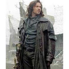 Gabriel Van Helsing Hugh Jackman Black Trench Coat #apparel #outfits #menswear #fashion #leathercoat