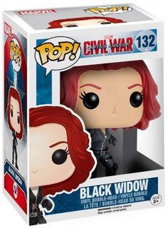 Funko Pop Marvel, Marvel Pop Vinyl, Black Widow, Film Captain America, Funko Pop Dolls, Funk Pop, Figurine Pop, Pop Collection, Wanda And Vision