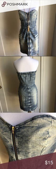 Divine Rights of Denim zip up dress Divine rights of Denim zipup dress. Size M. Divine Rights of Denim Dresses