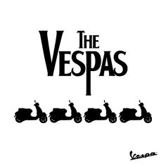 """All you need is #Vespa""   Today, 55 years ago, music history changed forever. Paul McCartney, George Harrison, John Lennon, and Ringo Starrr came together to change the world one song at a time.  #TheBeatles #GBDJune25"