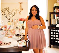Michele, is this close to the style that you like? Tres Shabby Chic Baby Shower Brunch
