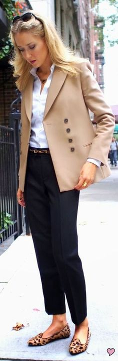 Classic Style...another great camel blazer/jacket.