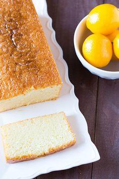 Meyer Lemon Pound Cake via @Michelle Flynn Flynn (Brown Eyed Baker) Best Cake Recipes, Pound Cake Recipes, Pound Cakes, Dessert Recipes, Chef Recipes, Frosting Recipes, Baking Recipes, Meyer Lemon Recipes, Lemon Loaf Cake