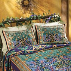 Tree of Life Pillow Shams....P27386 - New Age, Spiritual Gifts, Yoga, Wicca, Gothic, Reiki, Celtic, Crystal, Tarot at Pyramid Collection