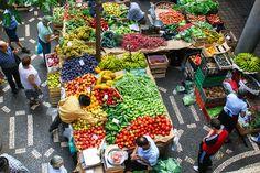 Mercado dos Lavradores - Madeira, Portugal