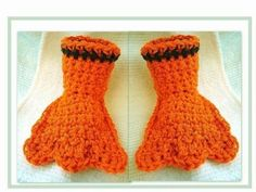 Crochet Duck Slippers - Video Tutorial ❥ 4U hilariafina  http://www.pinterest.com/hilariafina/