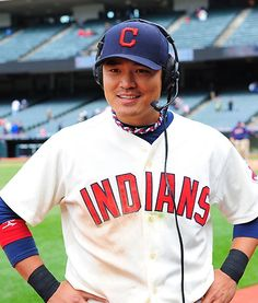 Shin-Soo Choo is a South Korean professional baseball outfielder with the Cleveland Indians of Major League Baseball in the United States.