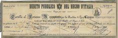 DEBITO PUBBLICO DEL REGNO D' ITALIA - CARTELLA - #scripomarket #scriposigns #scripofilia #scripophily #finanza #finance #collezionismo #collectibles #arte #art #scripoart #scripoarte #borsa #stock #azioni #bonds #obbligazioni
