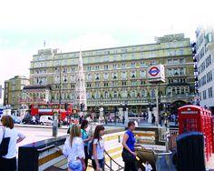 London's Charing Cross Station (Start CW1)
