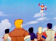 captain planet animated GIF