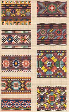 This cross stitch borders is i