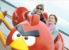 """parque temático """"Angry Birds"""", em Tempere"""
