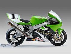 Doug Chandler ZX-7RR. #kawasaki #zx7rr #zx7r #moto #ama #superbike #amasuperbike #90smoto