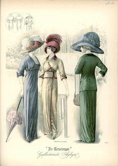 [De Gracieuse] Wandeltoiletten (June 1911)