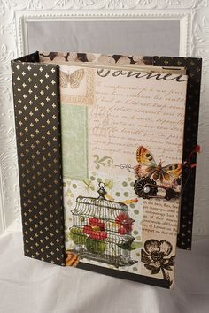 "All Occasion Scrapbook Album 9"" x 7"". $95.00, via Etsy."