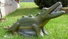 Krokodil, 3D-Ziel für Bogenschützen aus Ethafoam 400