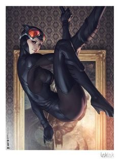 Catwoman thief