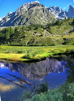 COURMAYEUR (Valle d'Aosta) - VAL VENY - Italy - LAGO COMBAL 2012 - by Guido Tosatto
