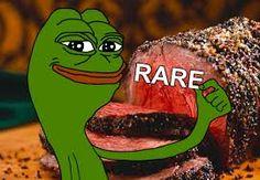 it says rare so its rare
