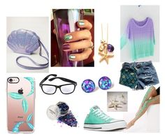 Ariel by thyra-dahl on Polyvore featuring Mode, Converse and Miss High & Low