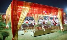 wedding tent decorations - Google Search