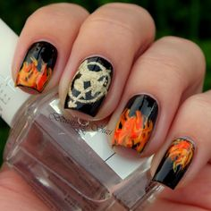 → Inspired by Catching Fire ←the flames are awesome! Thursday maybe :)