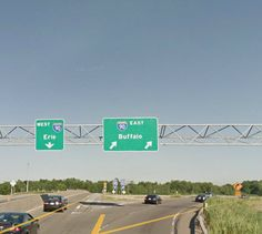 Thruway entrance from the 400.... Learned how to drive here & around this area during the year 1976.