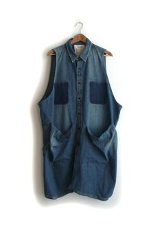 double denim smock | STATE Perfect for the workshop!