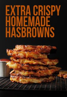 Extra Crispy Restaurant Style Hashbrown Patties - Extra Crispy Restaurant Style Hashbrown Patties – Layers of Happiness - Potato Dishes, Potato Recipes, Homemade Hashbrown Recipes, Shredded Hashbrown Recipes, Breakfast Dishes, Breakfast Recipes, Breakfast Ideas, Breakfast Casserole, Hash Brown Patties