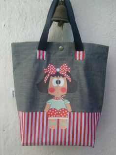 pretty tote for a little girl