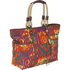 Tribal print bag. I love it.