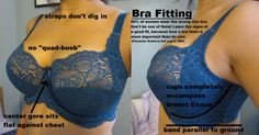 DO IT NOW: Guide to Proper Bra Fit and Measuring because Victoria Secret and La Senza and whatever are full of shit and you are definitely wearing the wrong size ok? ok