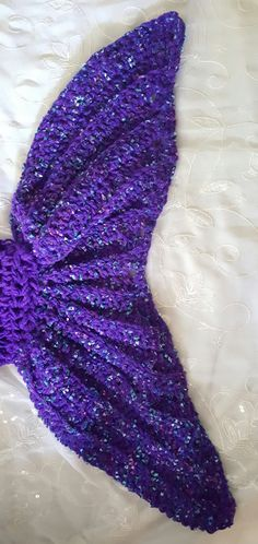 Adult Sized Mermaid Tail Blanket 35 x 70 PICK YOUR COLOR