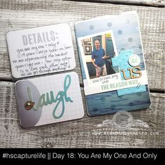 Project Life, Stampin' Up! Project Life 6x8, Project Life Freebies, Book Projects, Craft Projects, Projects To Try, Craft Ideas, Pocket Page Scrapbooking, Scrapbook Pages, Scrapbook Paper Crafts