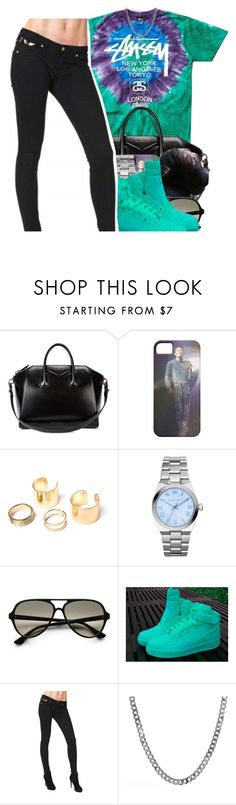 """""""236"""" by xbambiix ❤ liked on Polyvore featuring Stussy, Givenchy, Michael Kors, Ray-Ban and NIKE"""