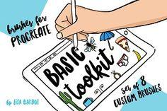 Procreate Brushes : Basic Toolkit