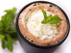 tequila mint spiked hot chocolate