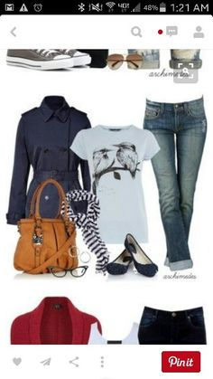 Great casual look. Love all of it and the Tshirt is super cute.