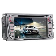 K-Navi 7 Inch Car Bluetooth DVD Player Multimedia GPS Navigation System Android For Ford - For Sale