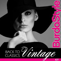 From the Archives:  11 Exclusive Vintage Burda Patterns Kit