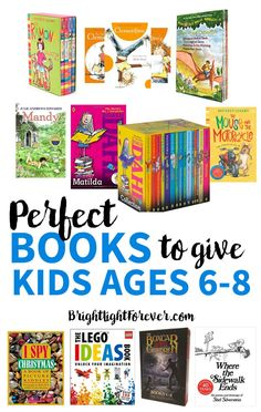 Wonderful list of books for kids ages 6-8   First and second grade books