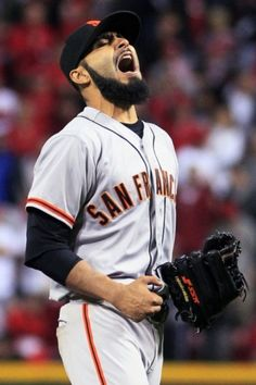 San Francisco Giants Baseball = LIFE ❤⚾ - Gotta love this man!