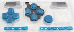 Sony Psp 3000 Series Button Set - Blue [Customize] [Repair Part] [Video Game][Bulk Packaging], 2015 Amazon Top Rated Accessory Kits #VideoGames