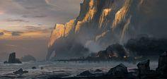 Docks at Sunset - Characters & Art - Assassin's Creed IV: Black Flag