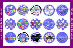 Daisy Girl Scout BottleCap Images