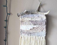 Tejido del colgante de pared Tejido tejido de por weavingmystory