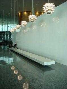 ph artichoke lamp commercial  tampa airport
